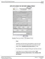 efps uploaded tax return form screen