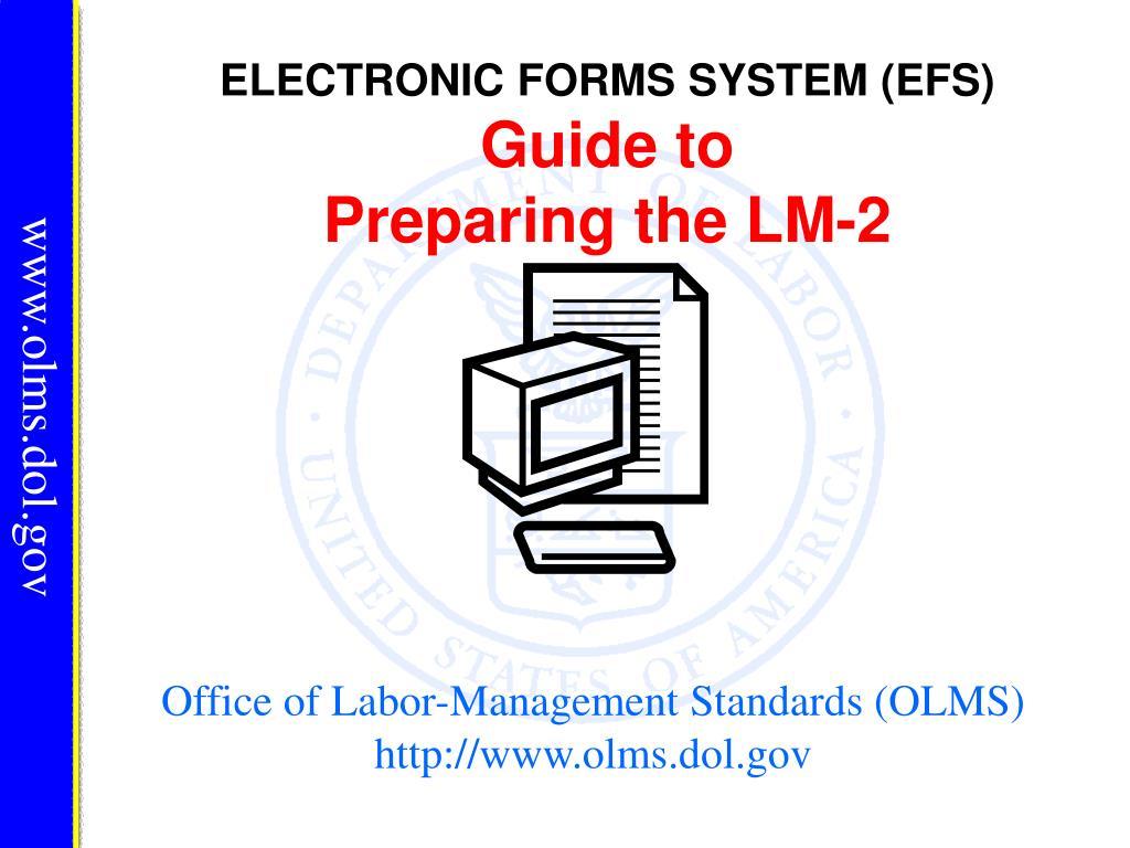 office of labor management standards olms http www olms dol gov l.