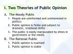 i two theories of public opinion13