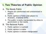 i two theories of public opinion24
