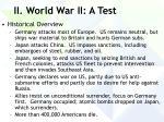 ii world war ii a test