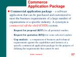 commerce application package57