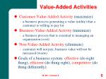 value added activities