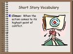 short story vocabulary8