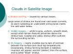 clouds in satellite image91