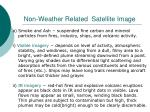 non weather related satellite image