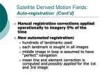 satellite derived motion fields auto registration cont d
