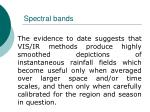 spectral bands46