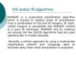 vis and or ir algorithms50