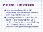 personal jurisdiction20