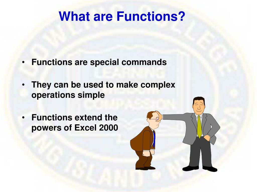 What are Functions?