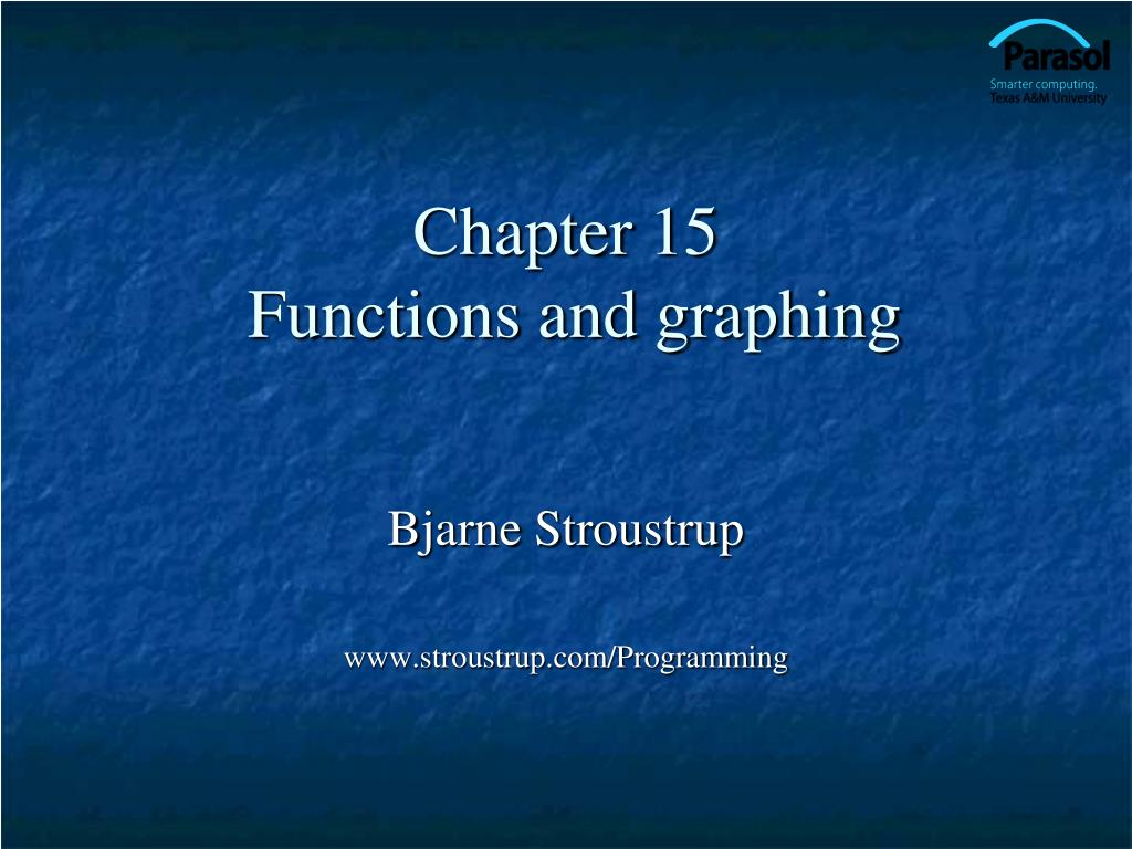 chapter 15 functions and graphing l.