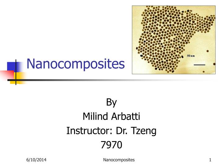 nanocomposites n.