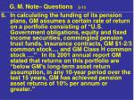 g m note questions 2 1326