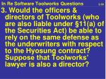 in re software toolworks questions 2 50