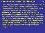in re software toolworks questions 2 55