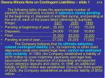 owens illinois note on contingent liabilities slide 1 2 10