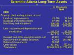 scientific atlanta long term assets 2 11