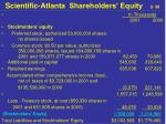 scientific atlanta shareholders equity 2 38