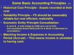 some basic accounting principles 2 3