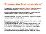 constructive internationalism