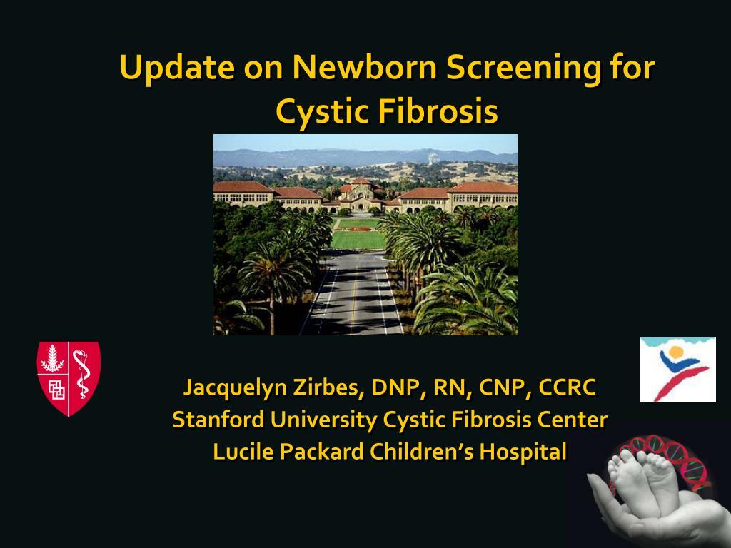 update on newborn screening for cystic fibrosis l.