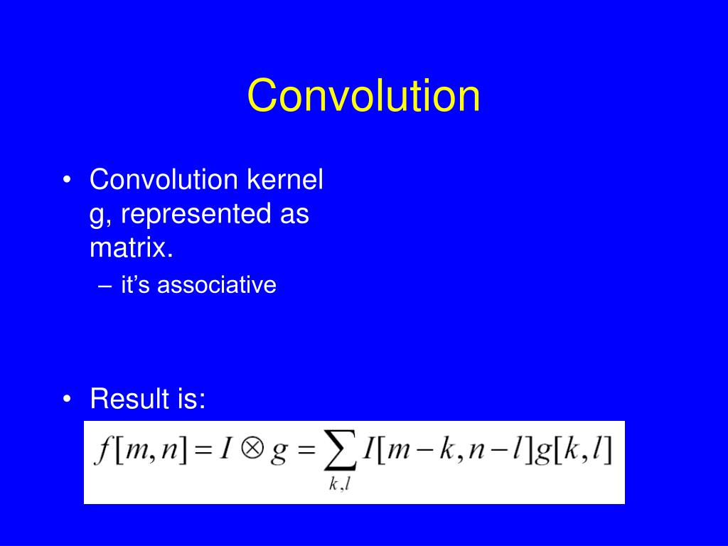 Convolution
