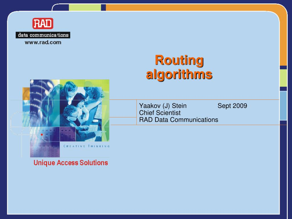 routing algorithms l.