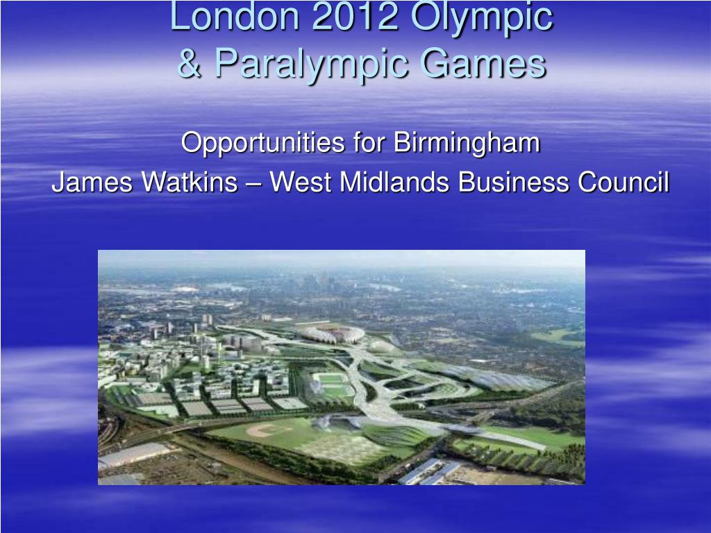 london 2012 olympic paralympic games l.