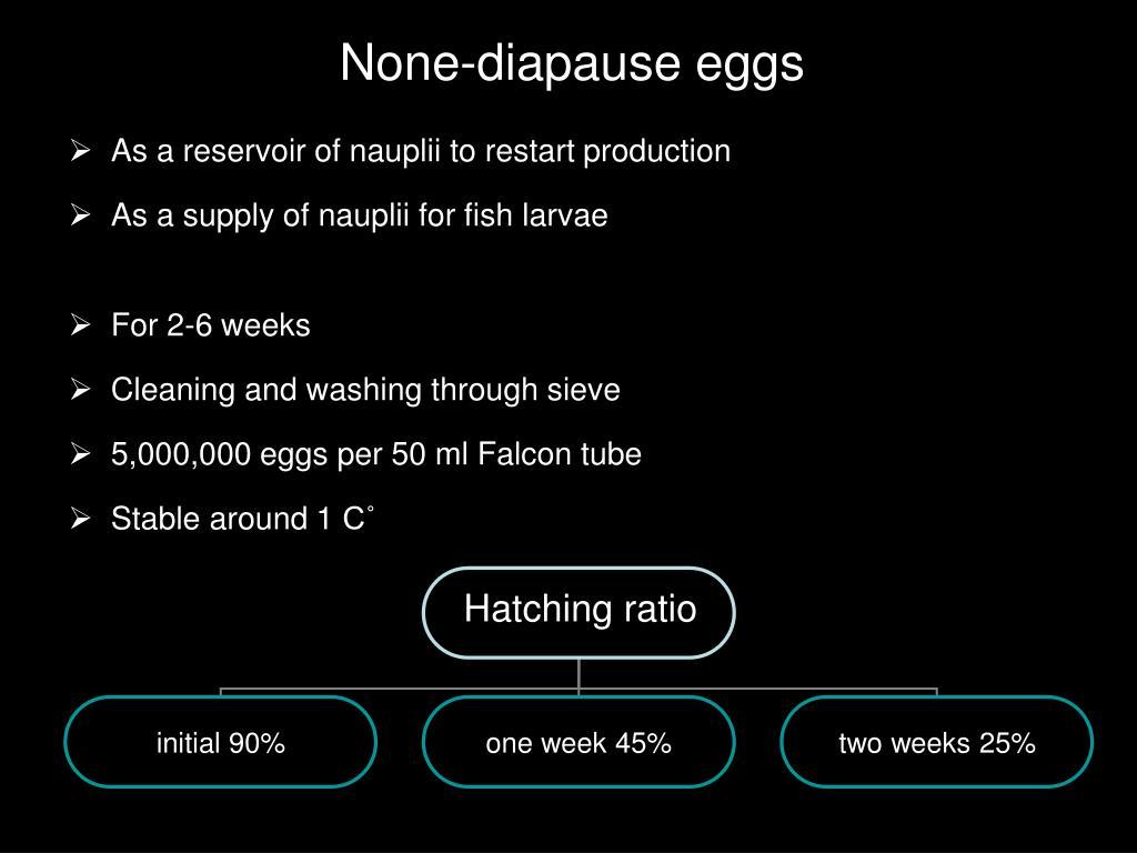 None-diapause eggs