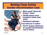 boeing class action gender discrimination case