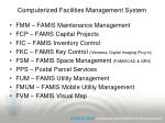 computerized facilities management system