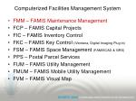 computerized facilities management system22