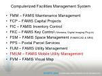 computerized facilities management system50