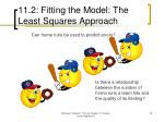 11 2 fitting the model the least squares approach18