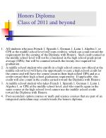 honors diploma class of 2011 and beyond17