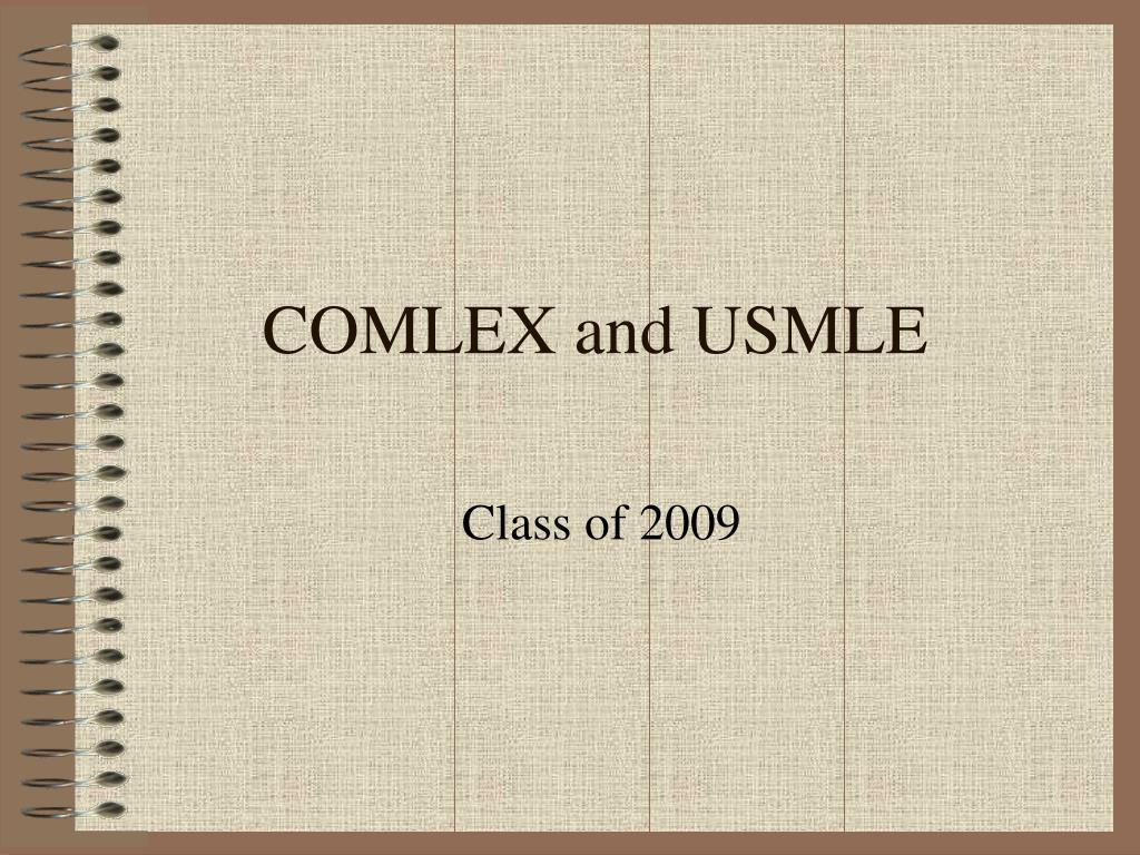 comlex and usmle l.