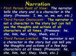 narration