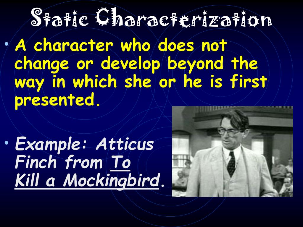 Static Characterization