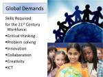 global demands