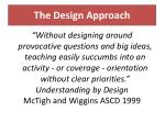 the design approach16