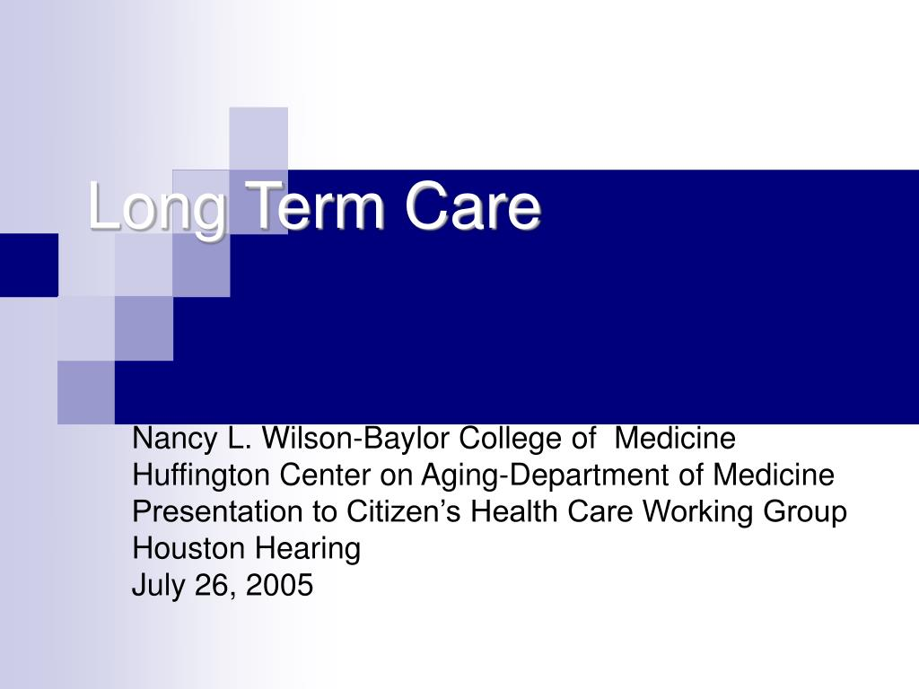 long term care l.
