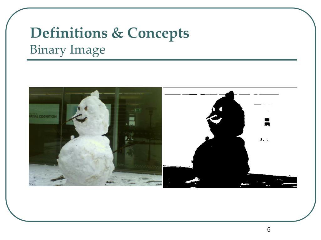 Definitions & Concepts