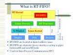 what is rt fifo