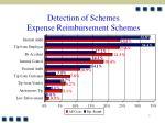 detection of schemes expense reimbursement schemes