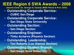 ieee region 6 swa awards 2008 awards chair dr george g karady ieee fellow prof asu