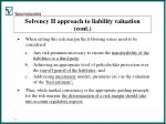 solvency ii approach to liability valuation cont12