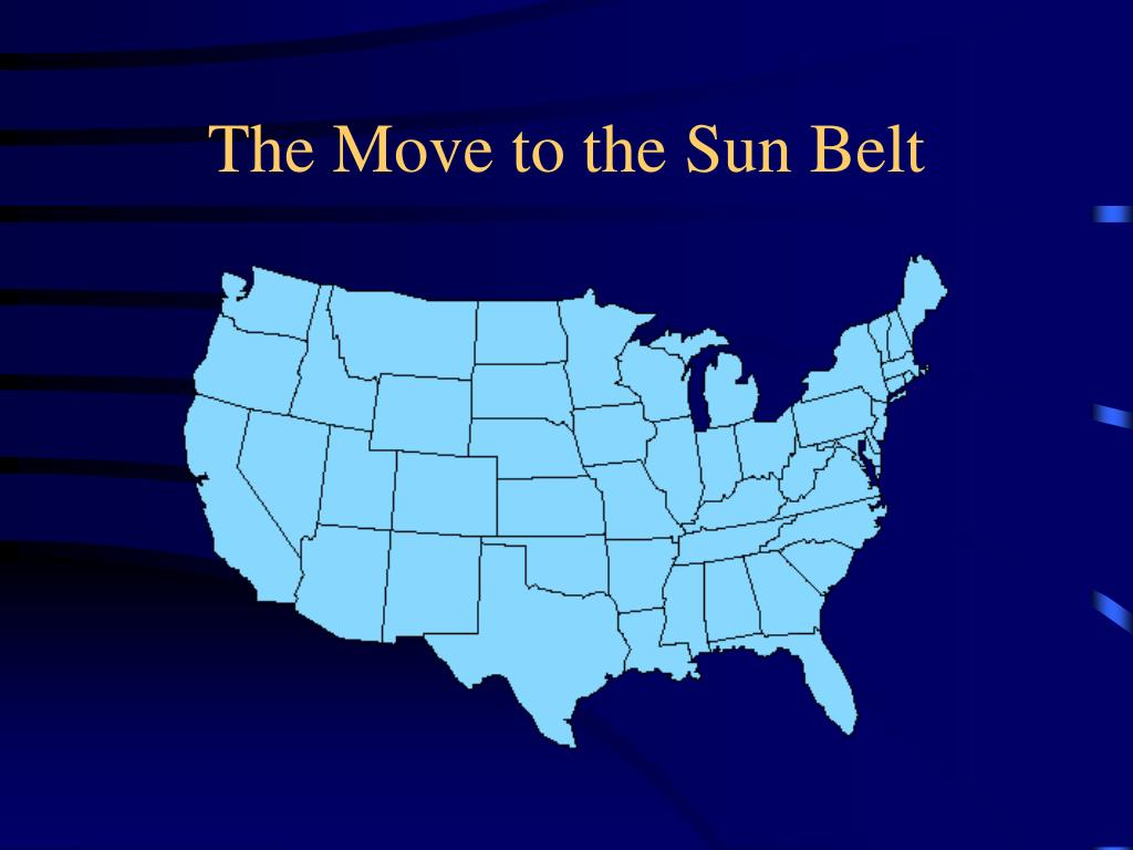 The Move to the Sun Belt