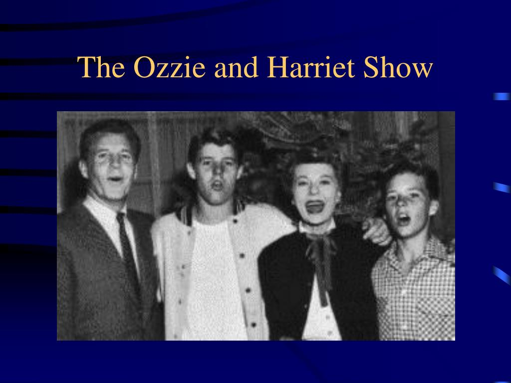 The Ozzie and Harriet Show