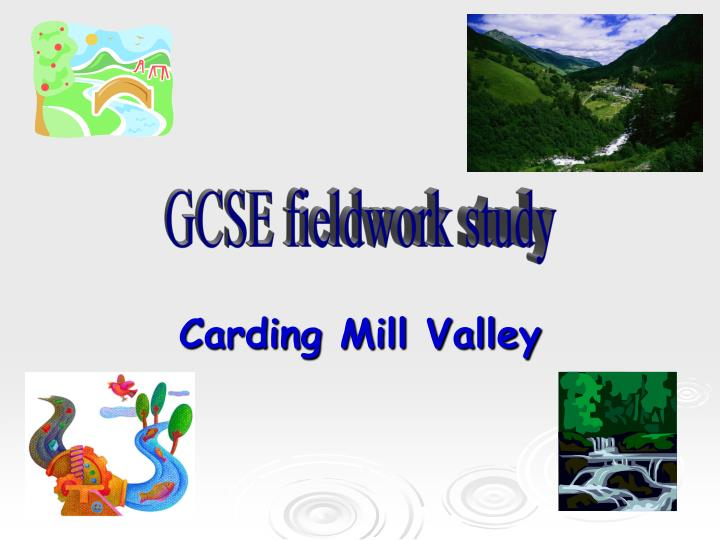 Carding mill valley coursework help with thesis writing